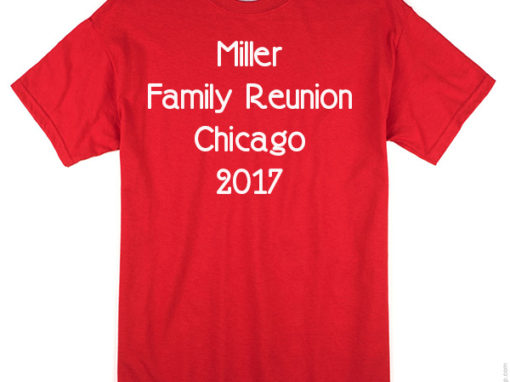 Family Reunion T Shirts in Chicago